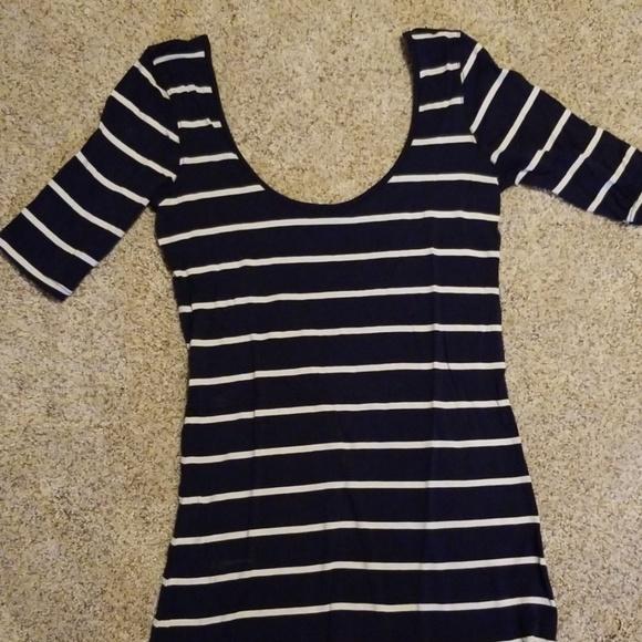 Nollie Tops - Striped PacSun Top
